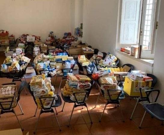 L'U.Di.Con. di Ionadi a sostegno delle famiglie con una raccolta alimentare